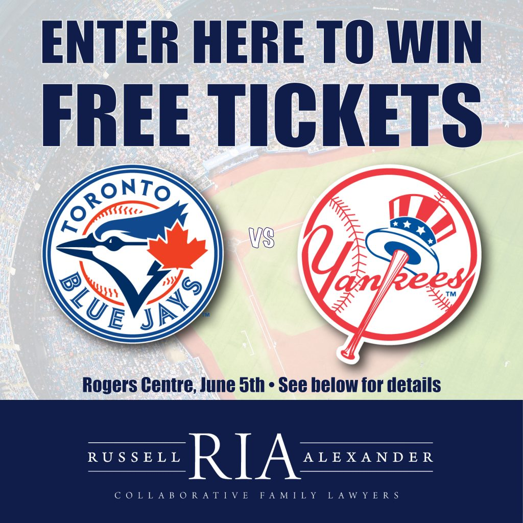 free tickets jays vs yankees contest graphic