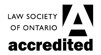 LSO law society of ontario Accredited